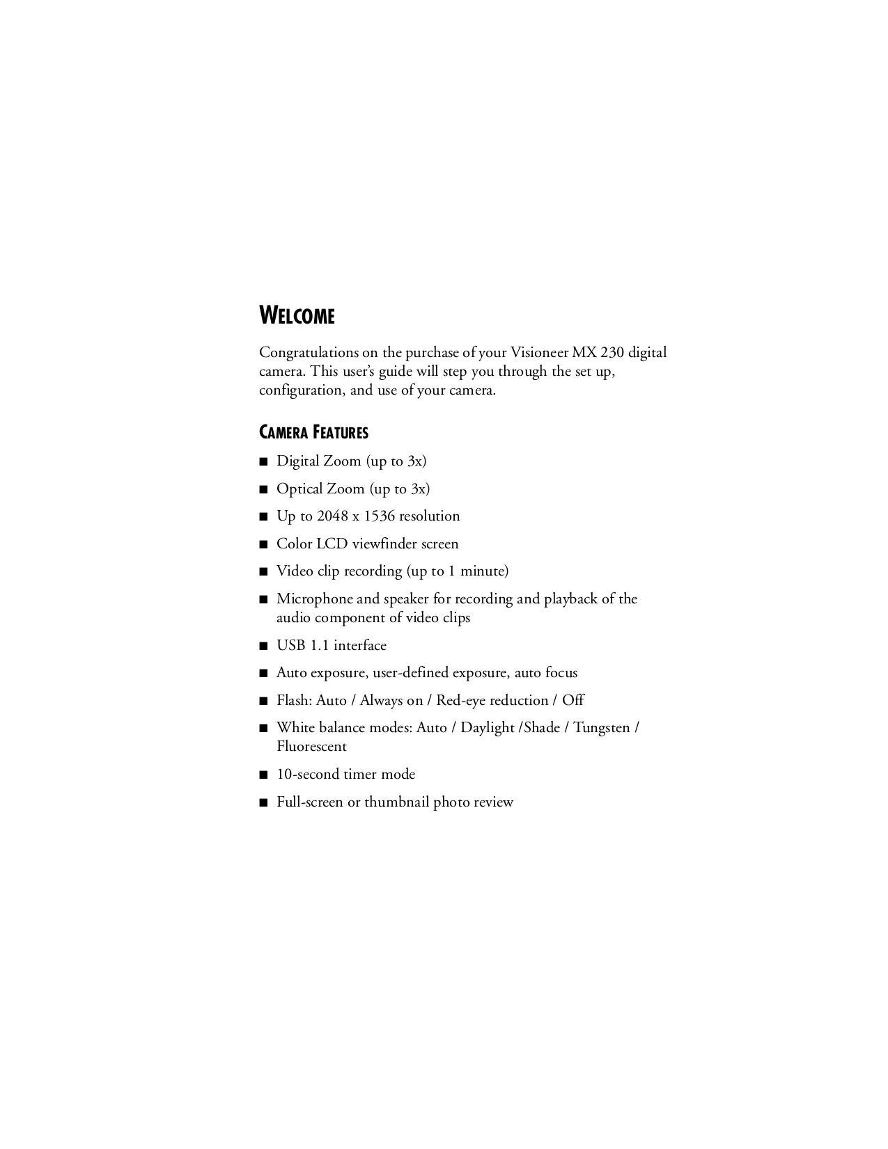 pdf manual for visioneer digital camera mx 230 rh umlib com Sony Digital Camera PowerShot Camera Manual