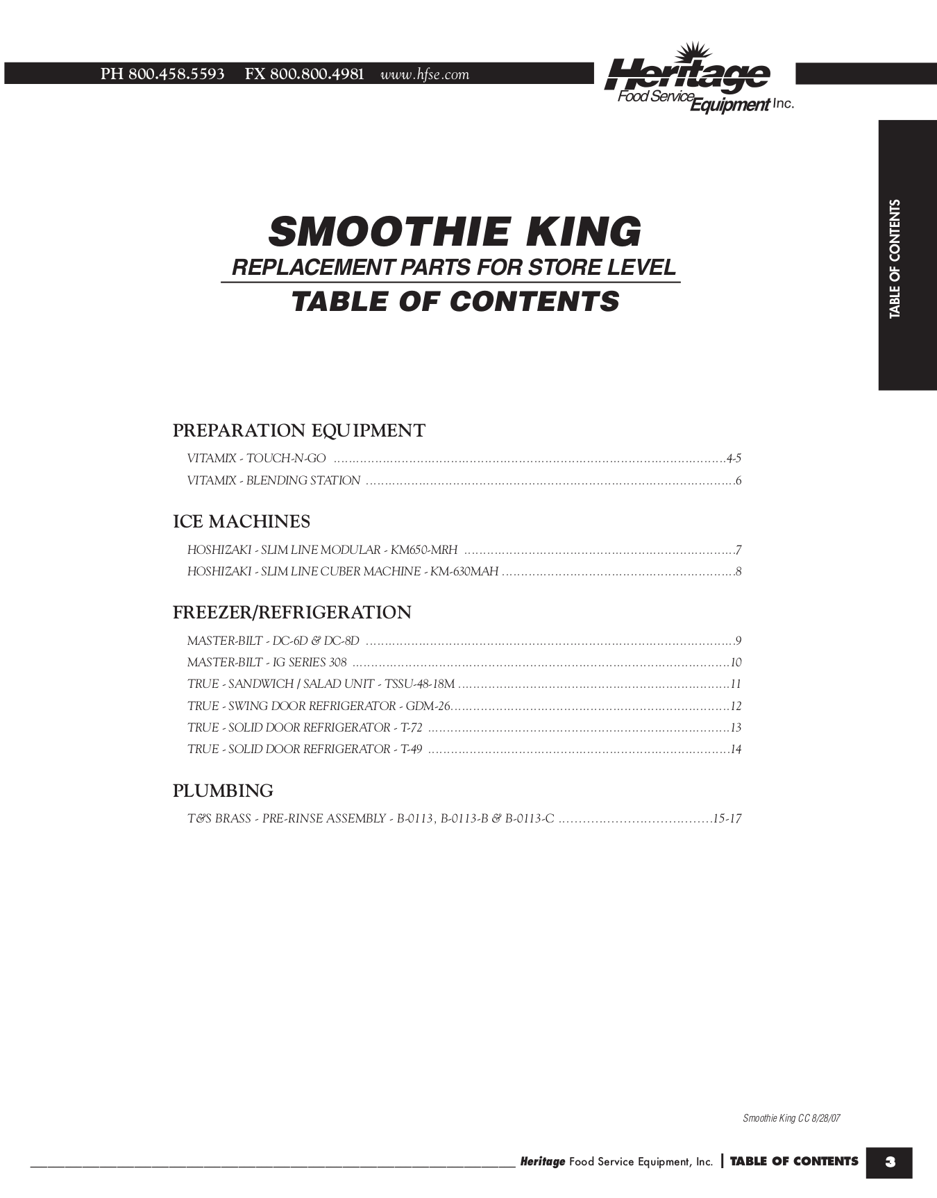 Smoothie King SPCE.pdf 0 download free pdf for true t 72f freezer manual  at cita.asia