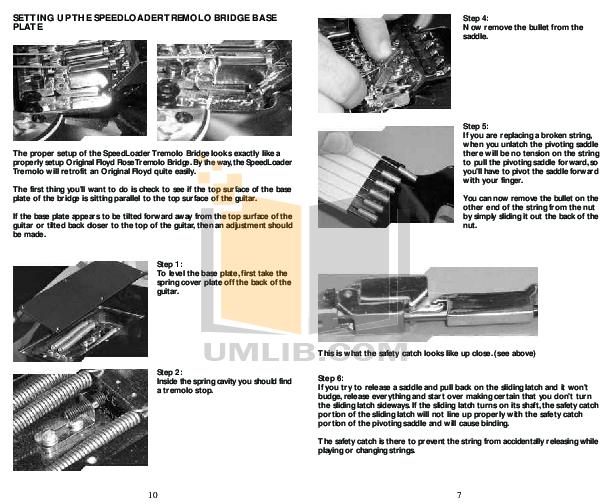 BCRich Guitar JMH5BV pdf page preview