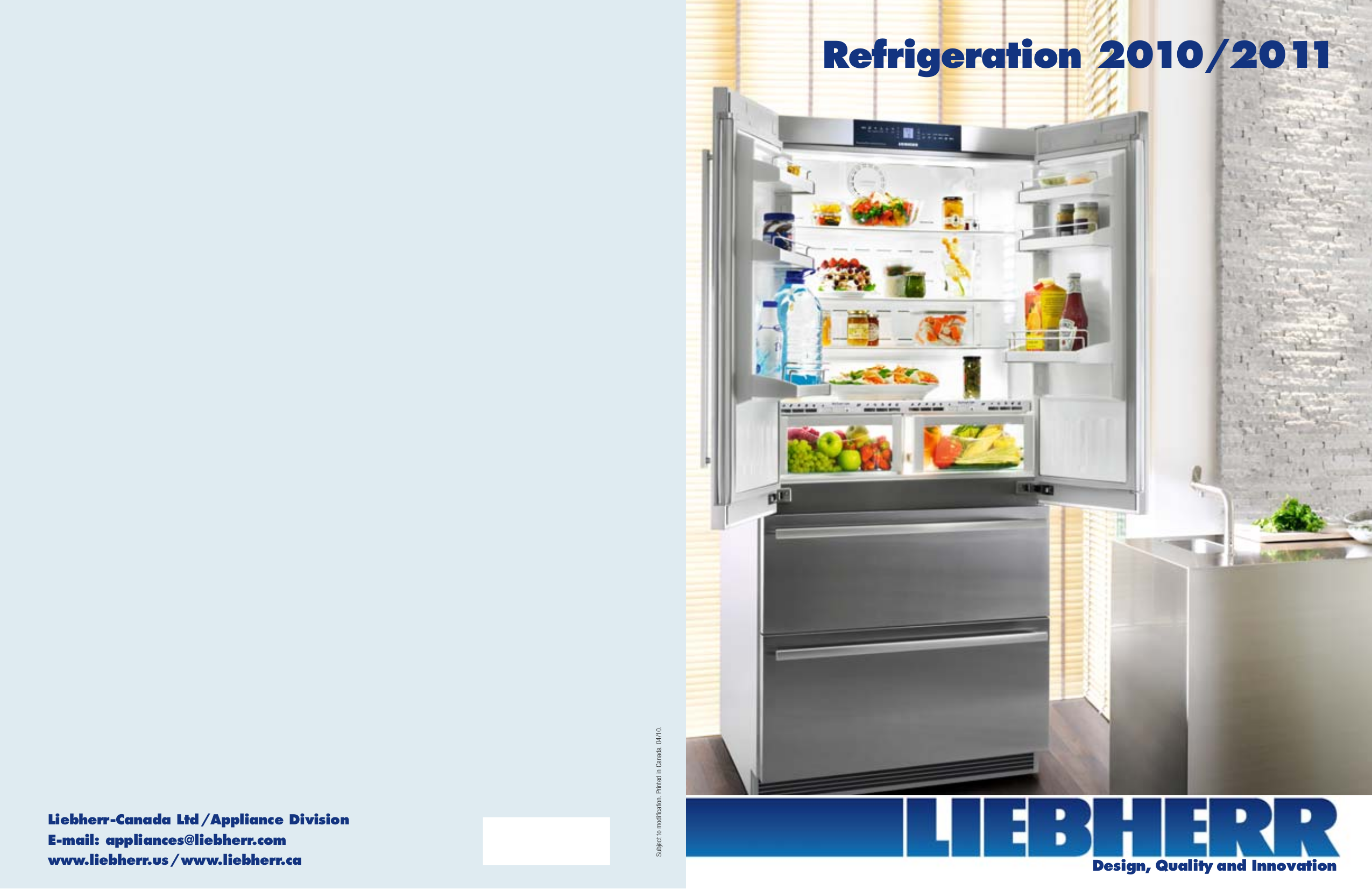 pdf for Liebherr Freezer F1051 manual