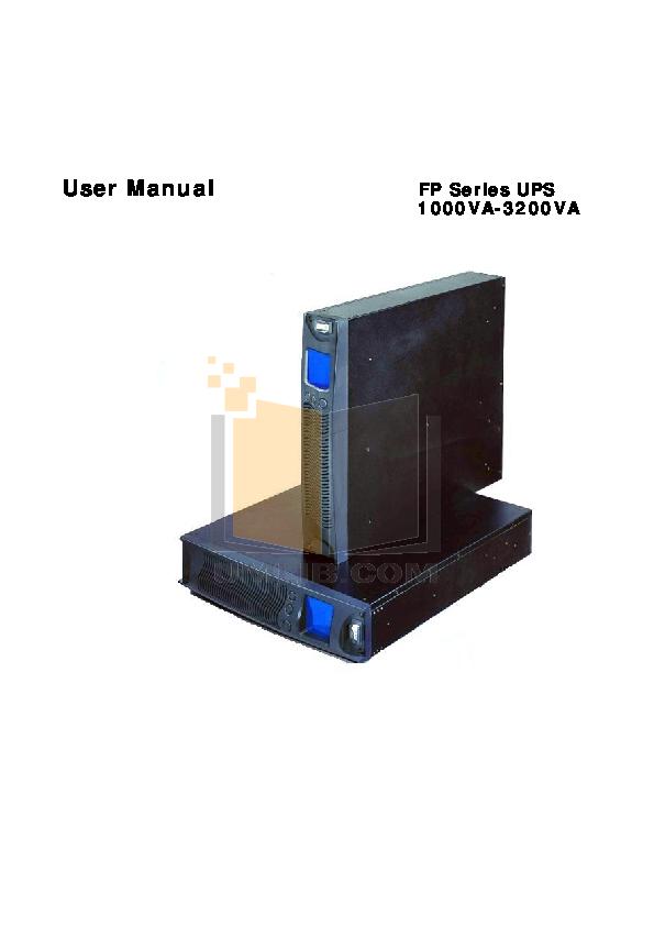 pdf for Audiovox TV FP1500 manual