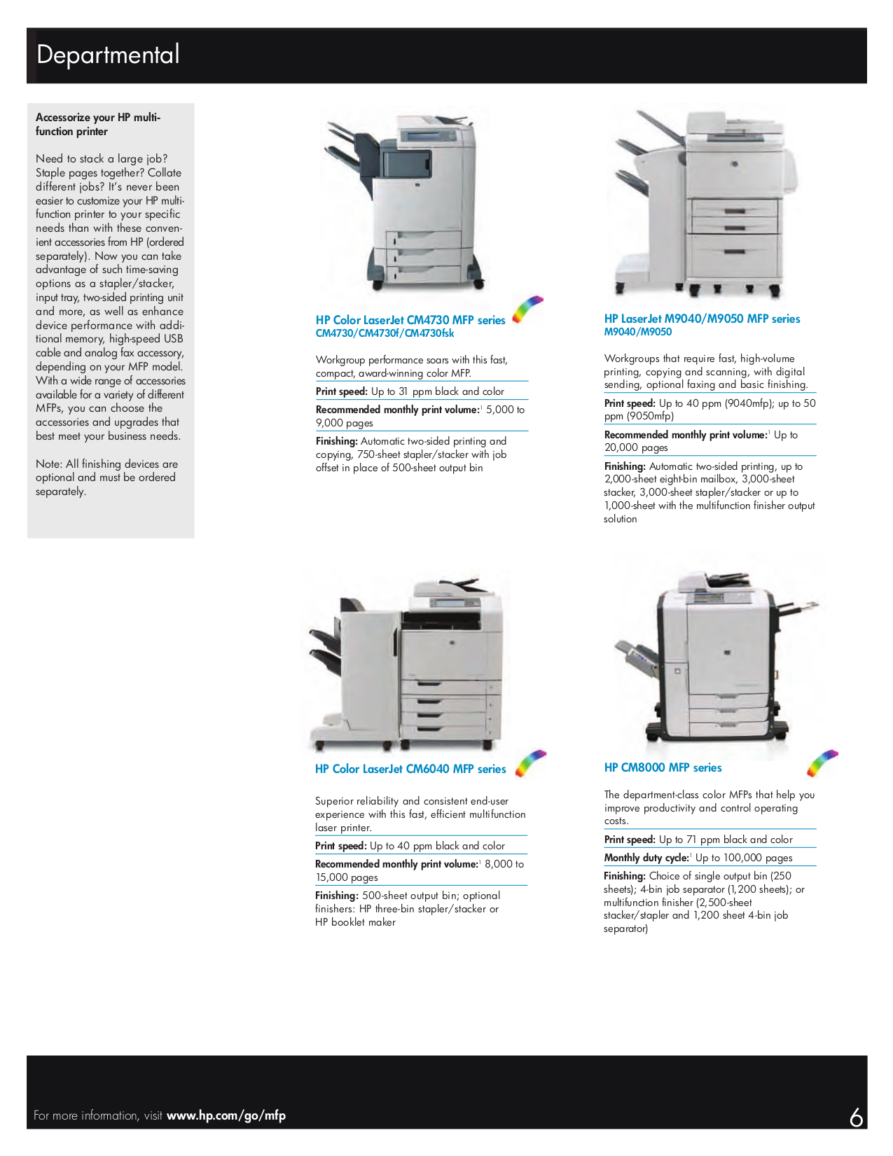 ... HP Multifunction Printer Laserjet,Color Laserjet M4345 pdf page preview  ...