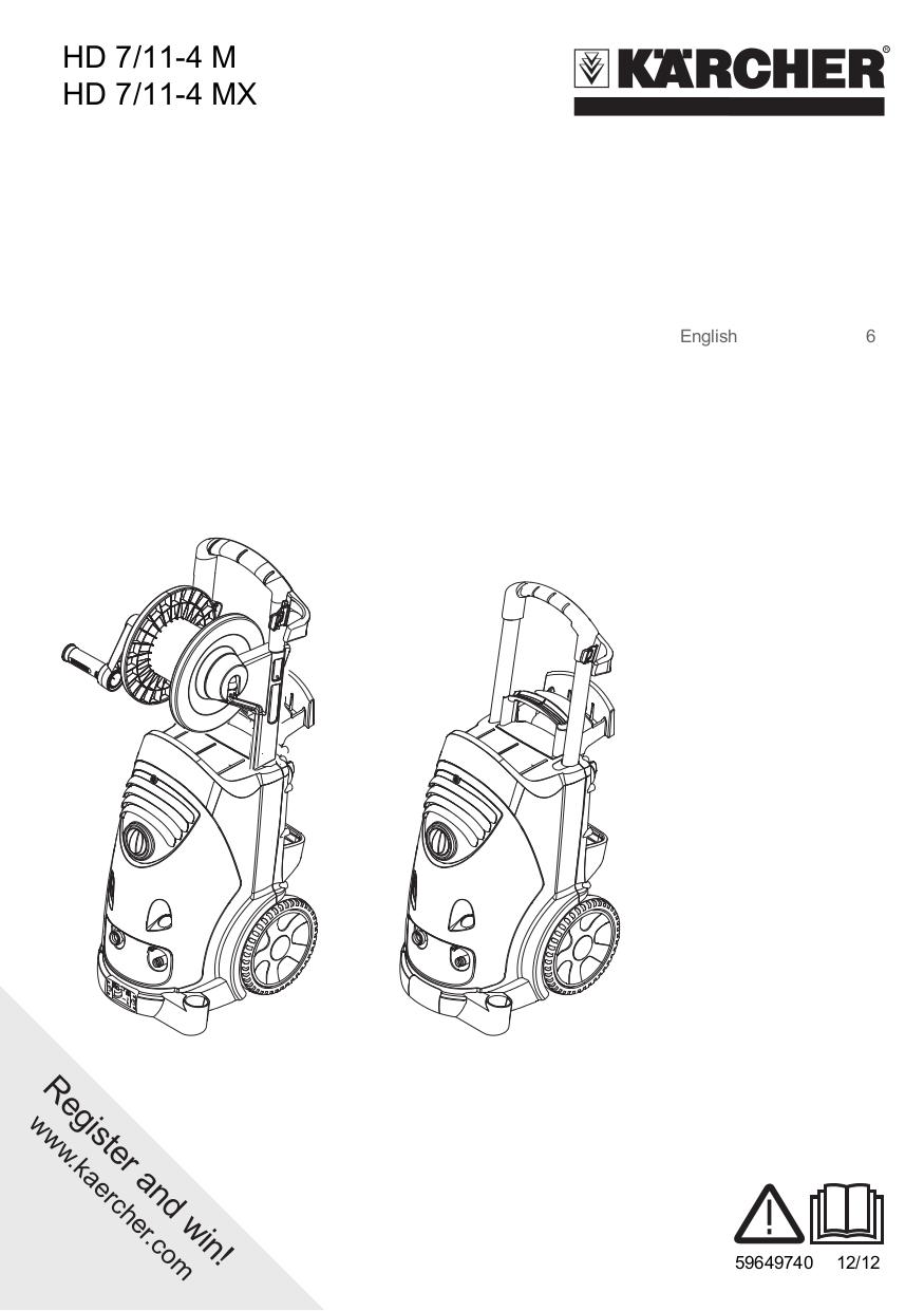 pdf for Karcher Other K 240 plus Pressure Washers manual