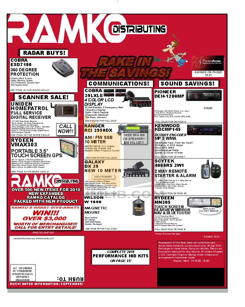 pdf for Crunch Car Amplifier PowerZone P 1400.2 manual