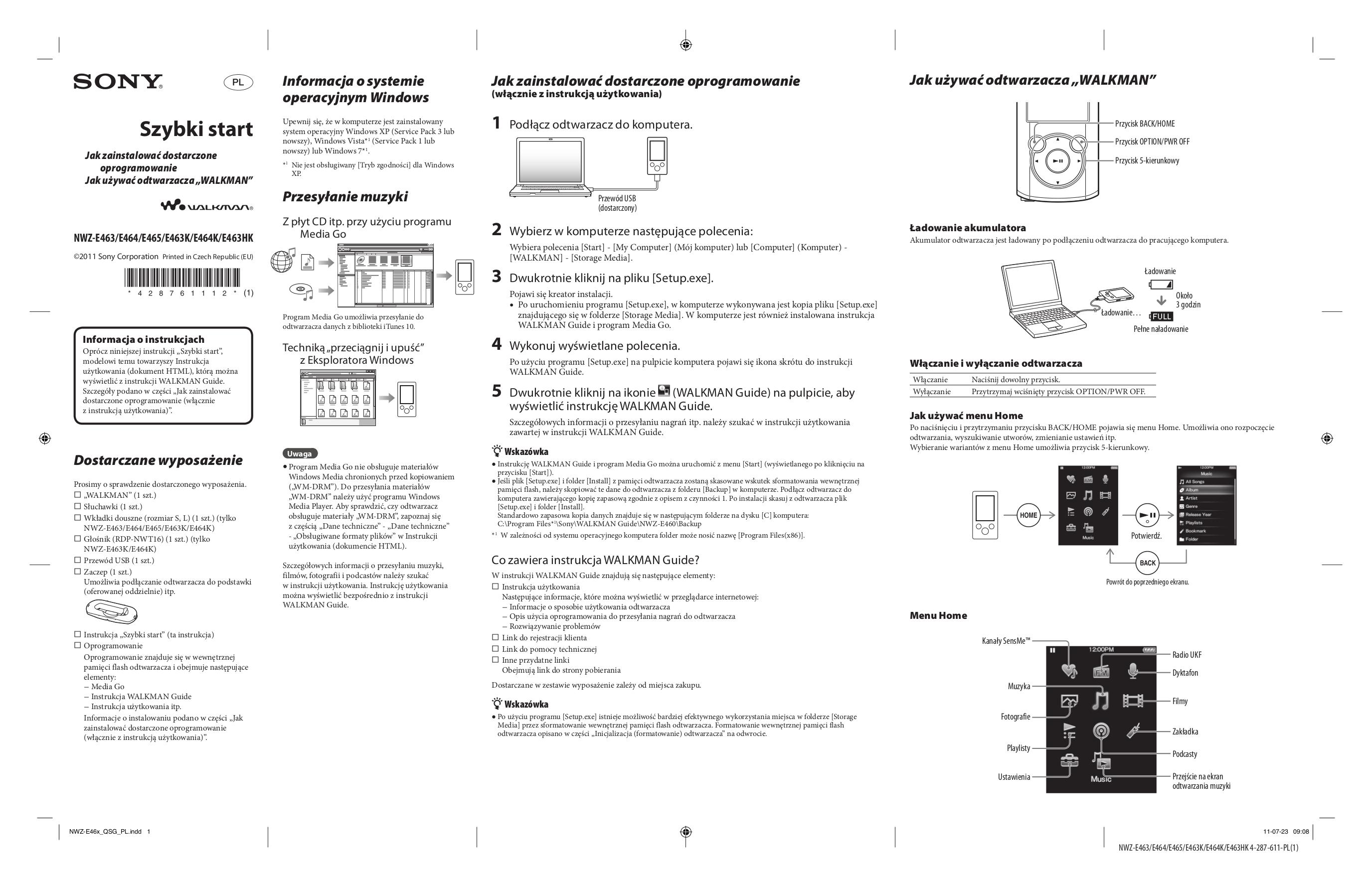download free pdf for sony walkman nwz e465 mp3 player manual rh umlib com sony walkman nwz-e465 driver Sony Nwz W252