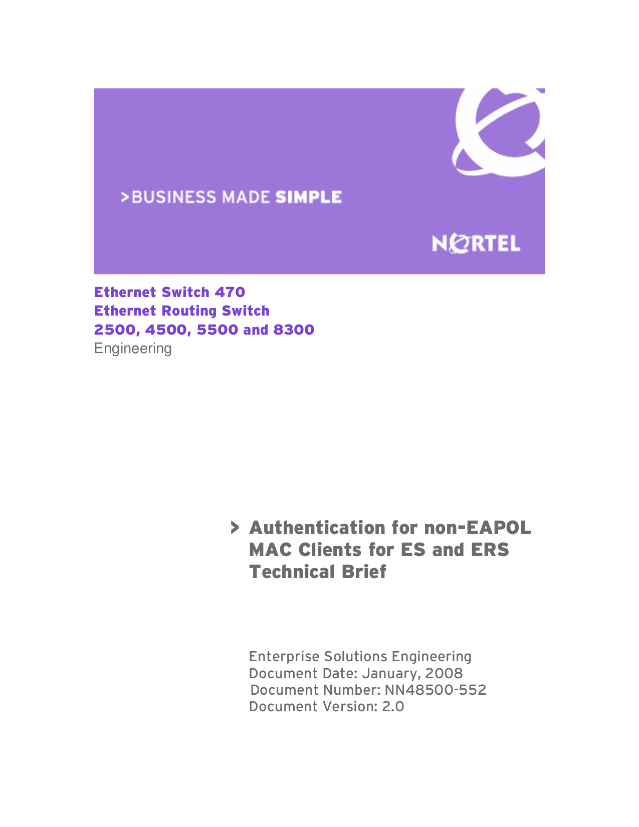 pdf for Nortel Switch 220-48T PWR manual