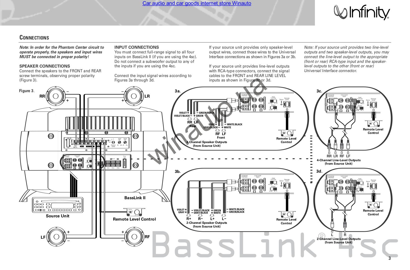 pdf manual for infinity subwoofer basslink ii rh umlib com infinity basslink ii manual infinity basslink t service manual
