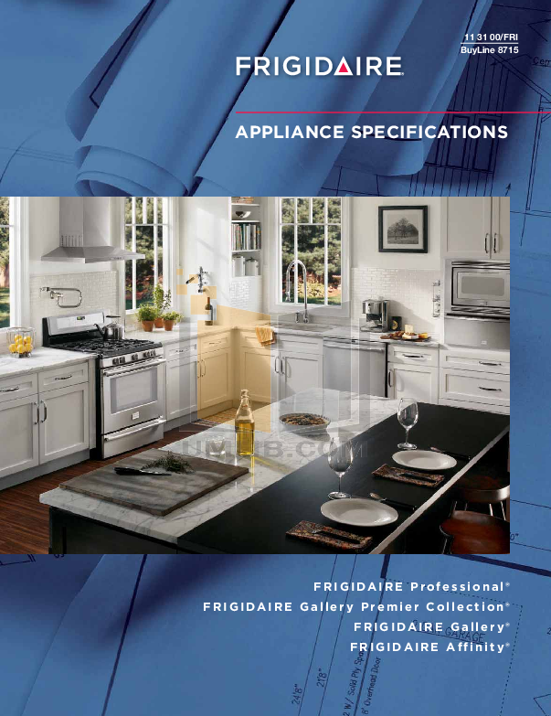 pdf for Frigidaire Refrigerator Gallery FGHS2634K manual