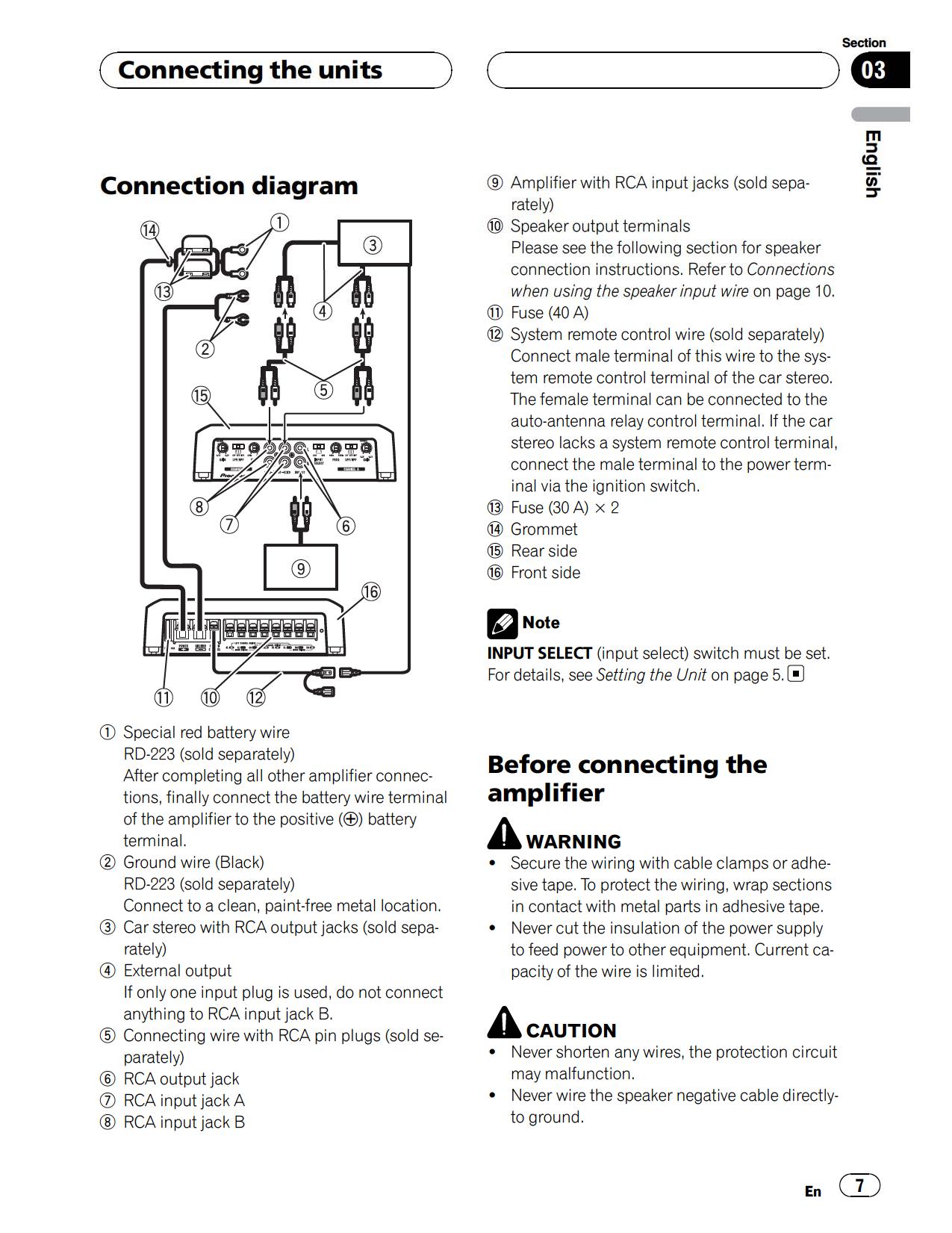 pioneer gm d9500f wiring diagram 32 wiring diagram Chevy 1500 Wiring Diagram GM 7-Way Wiring Diagram