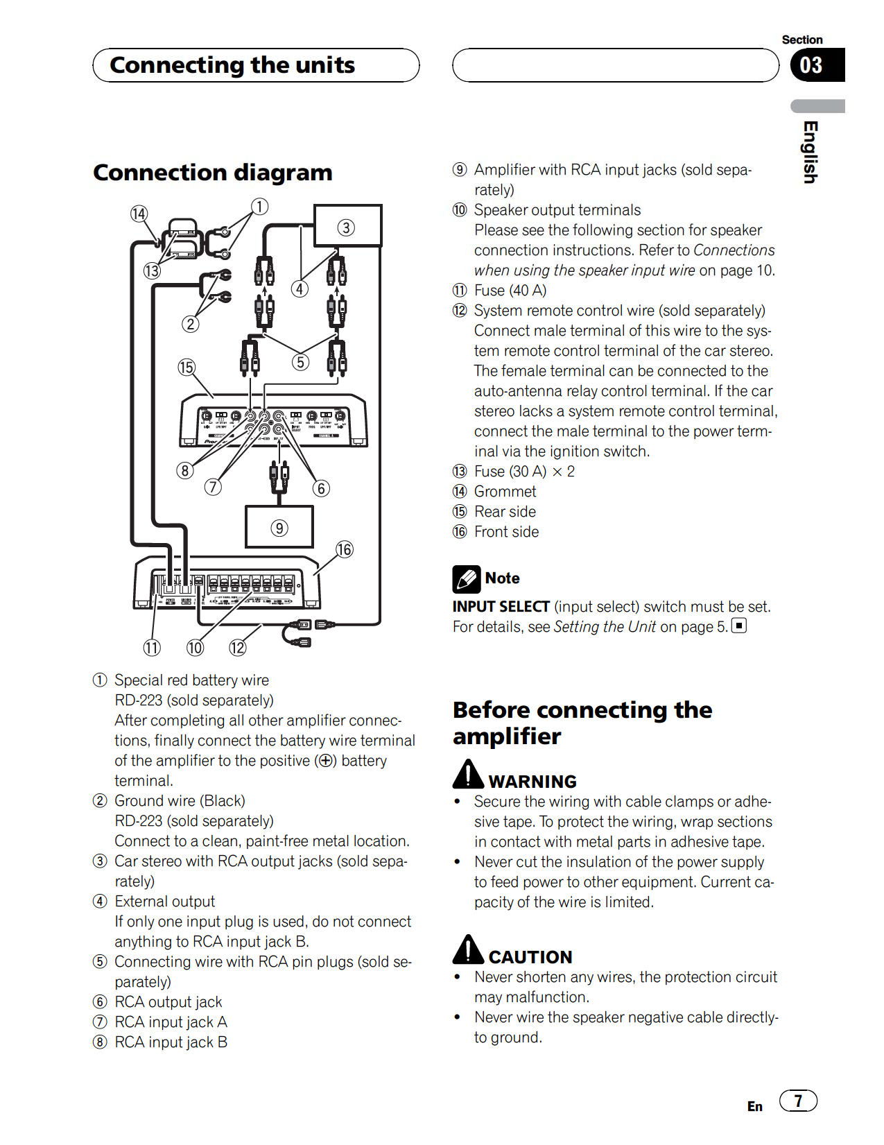 GM D9500F.pdf 6 pdf manual for pioneer car amplifier gm d9500f pioneer gm-d9500f wiring diagram at mifinder.co