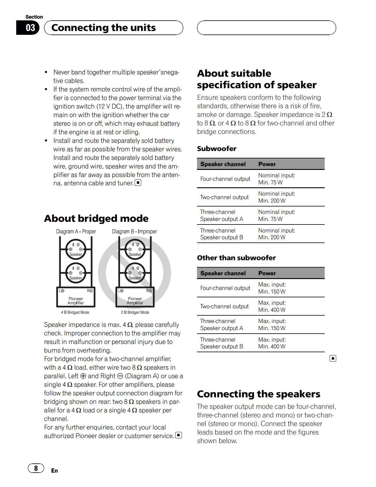 GM D9500F.pdf 7 pdf manual for pioneer car amplifier gm d9500f pioneer gm-d9500f wiring diagram at mifinder.co