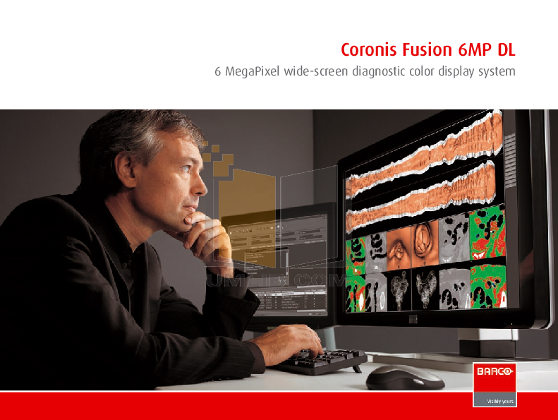 pdf for Barco Monitor Coronis Color 3MP manual