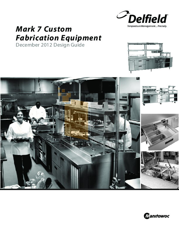 pdf for Delfield Other N8146NB Cold Pans manual