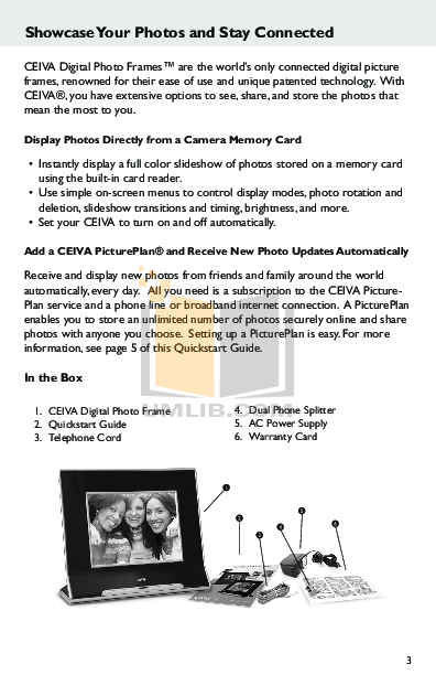Ceiva Digital Picture Frame Choice Image - origami instructions easy ...