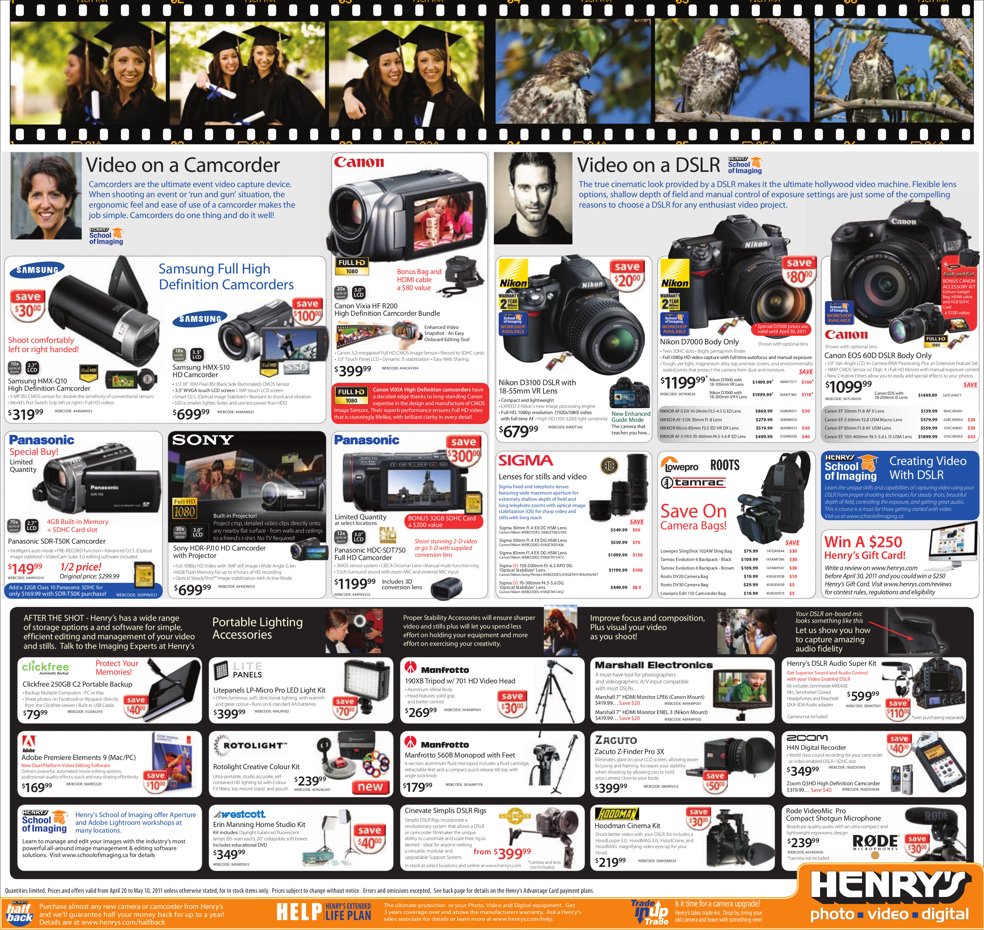 Samsung Camcorders HMX-S10 pdf page preview