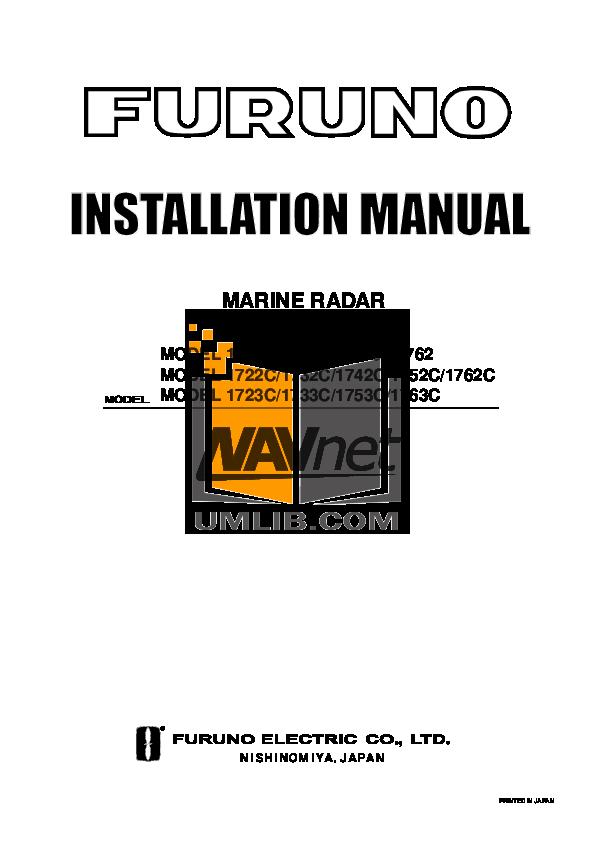 download free pdf for furuno 1722c marine radar other manual rh umlib com