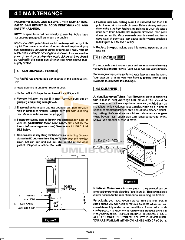 Breckwell Heating Cooling and Air P28FS pdf page preview