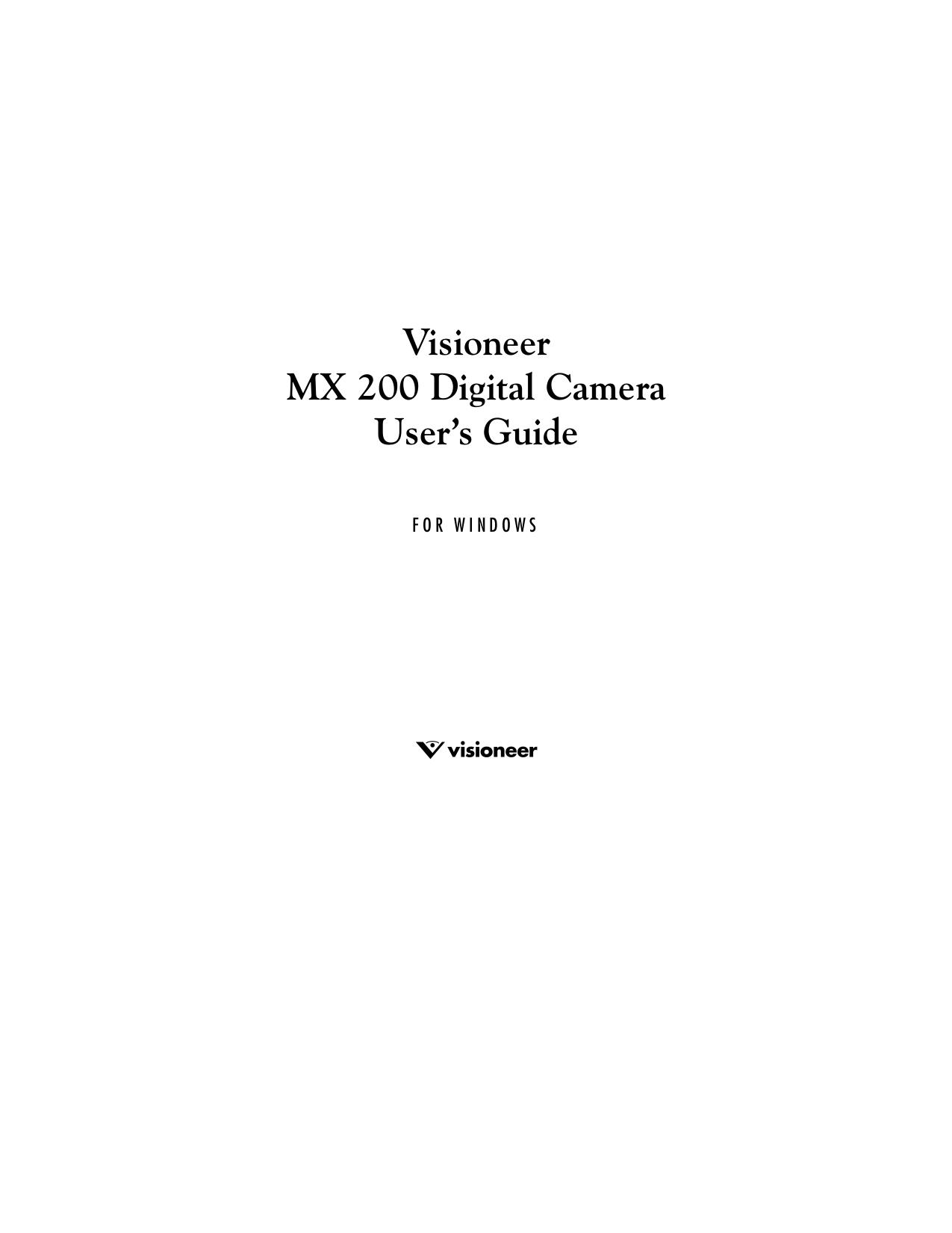 download free pdf for visioneer mx 200 digital camera manual rh umlib com Canon Digital Camera Manual PowerShot Camera Manual