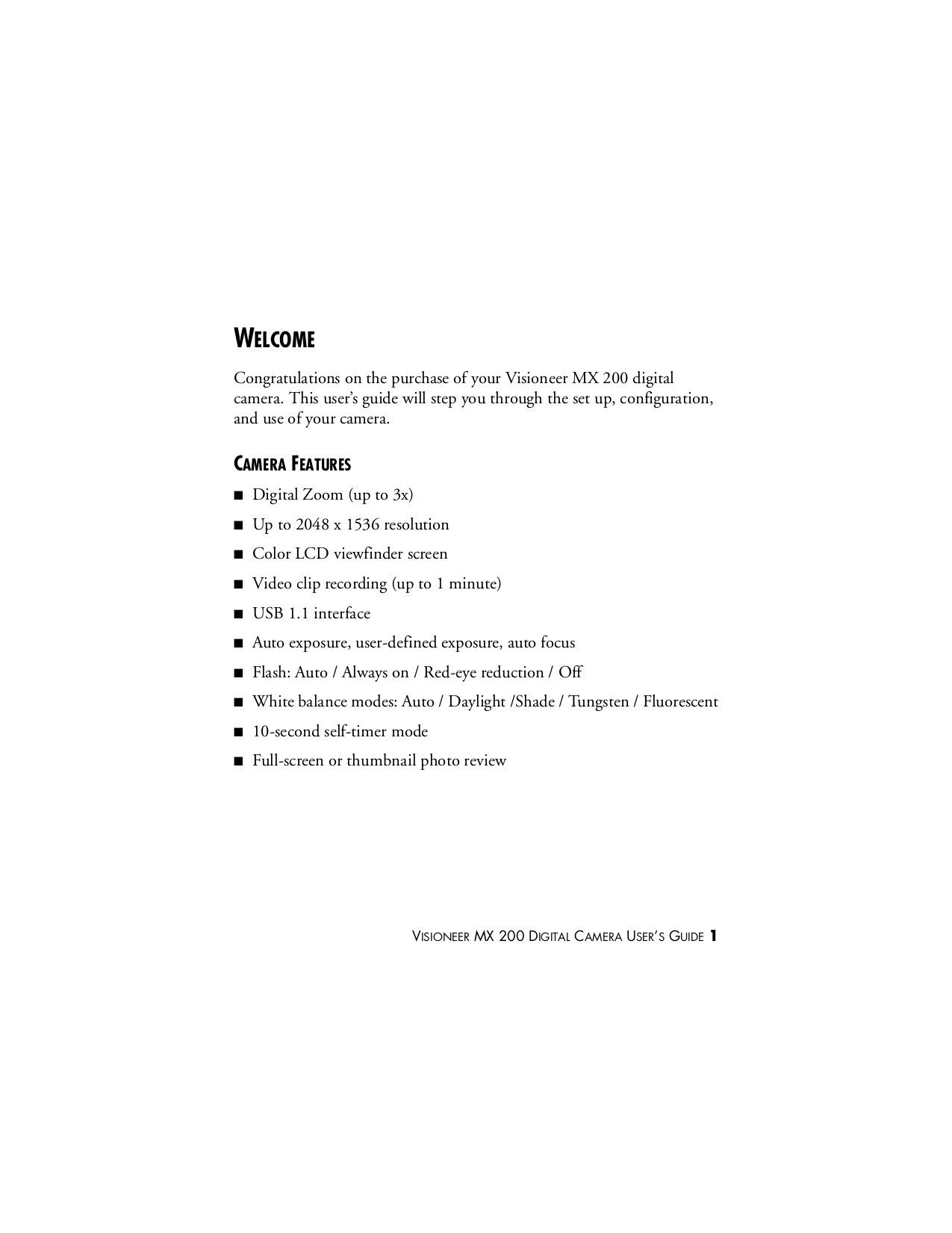 pdf manual for visioneer digital camera mx 200 rh umlib com Omni 2 Digital Camera Manual Sony Digital Camera Manual