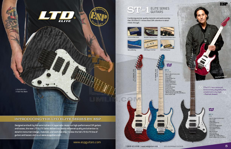 ESP Guitar EC-1000 pdf page preview