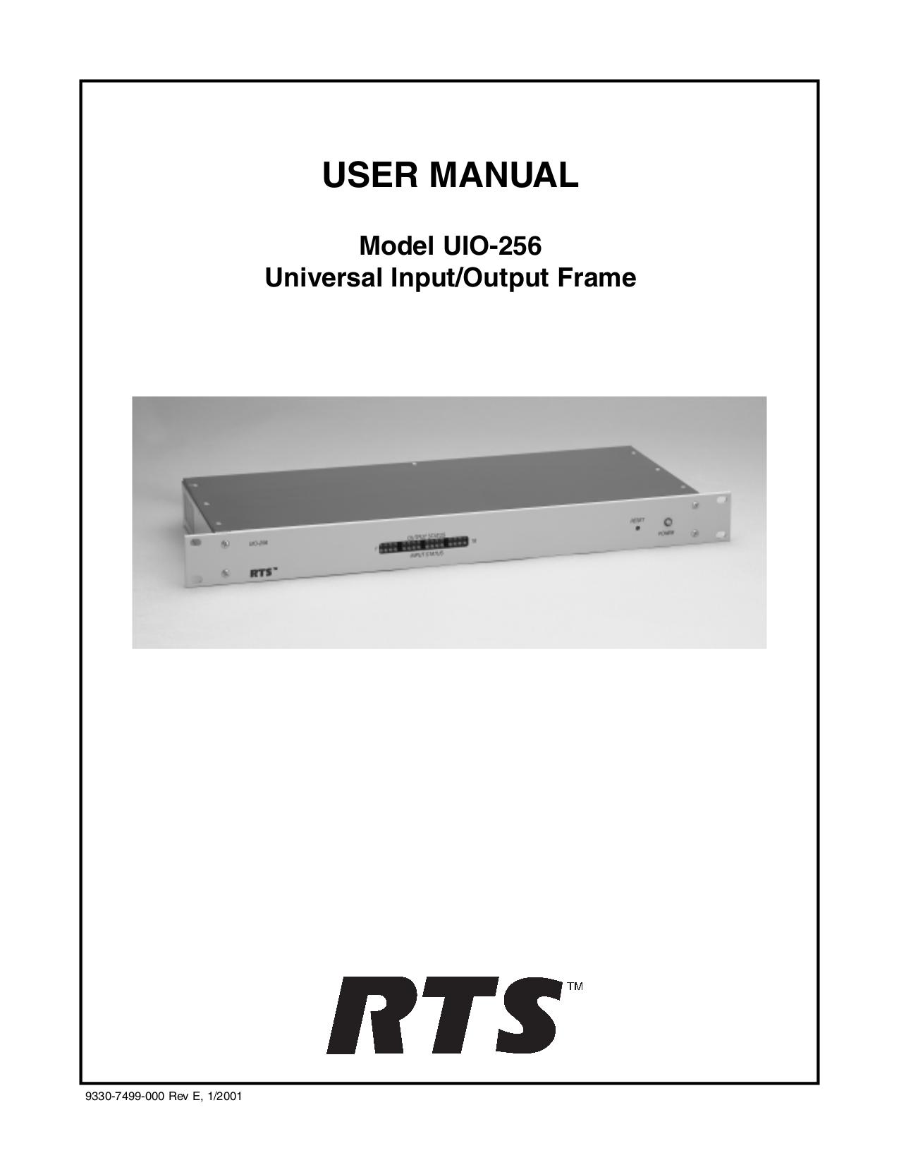 pdf for Telex Other ADAM-CSedit IntercomSystem manual
