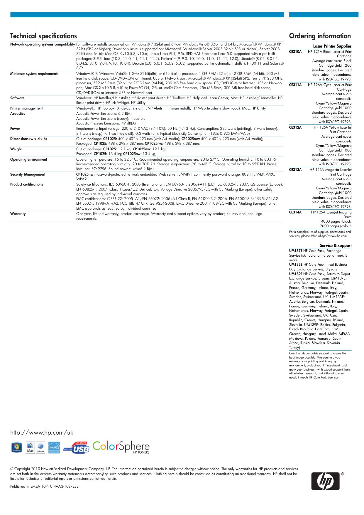 hp laserjet pro p1102 specifications pdf