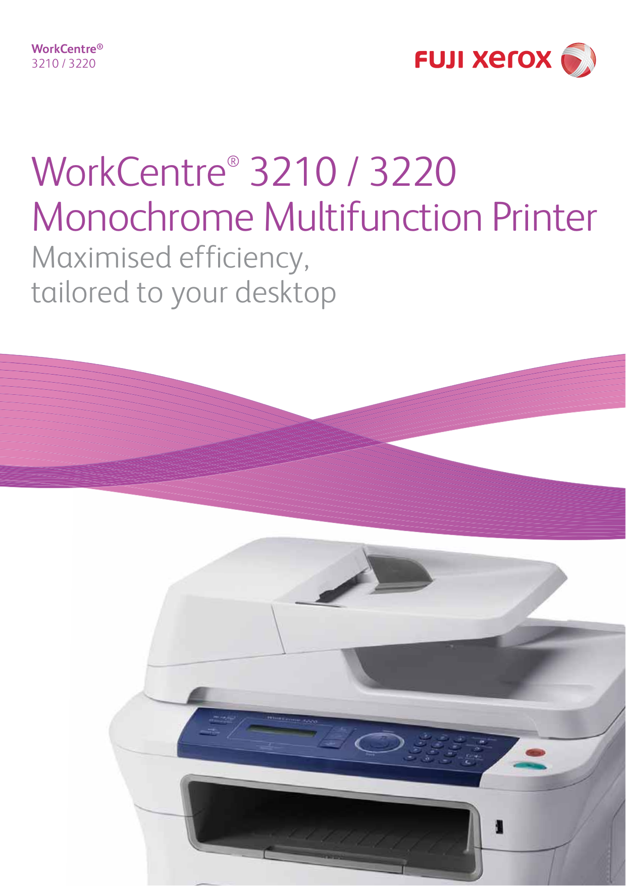 Xerox Multifunction Printer WorkCentre 3210 pdf page preview ...