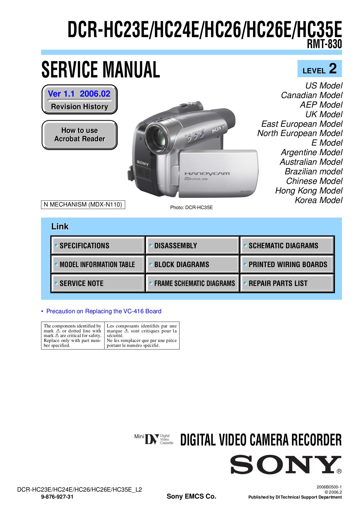 software handycam sony dcr-hc26