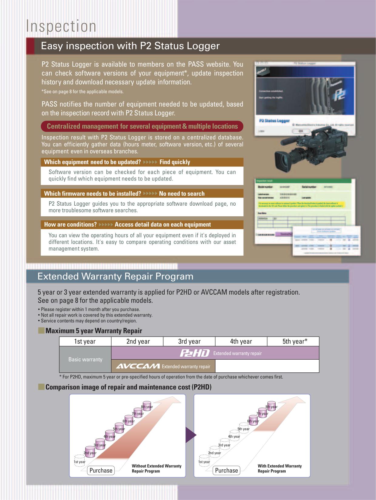 PDF manual for Panasonic Camcorders AJ-SPX800