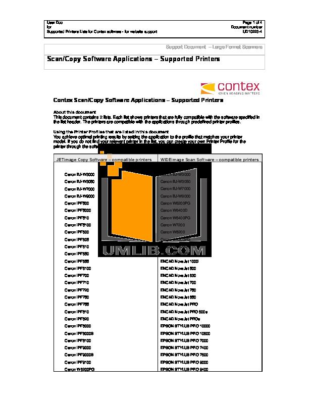 pdf for Epson Printer Stylus Pro 10600 manual