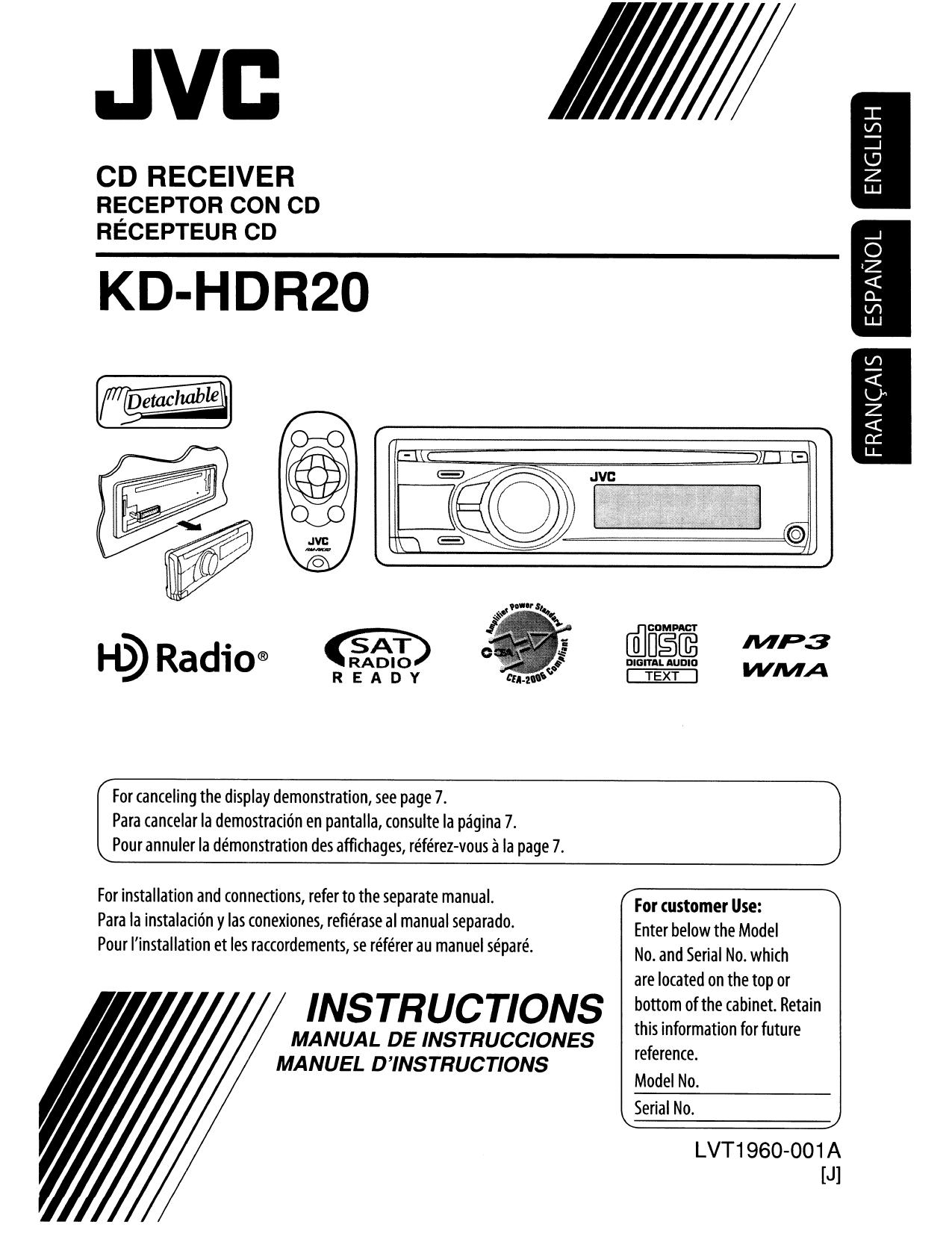 Инструкция К Автомагнитоле Jvc Kd-G407