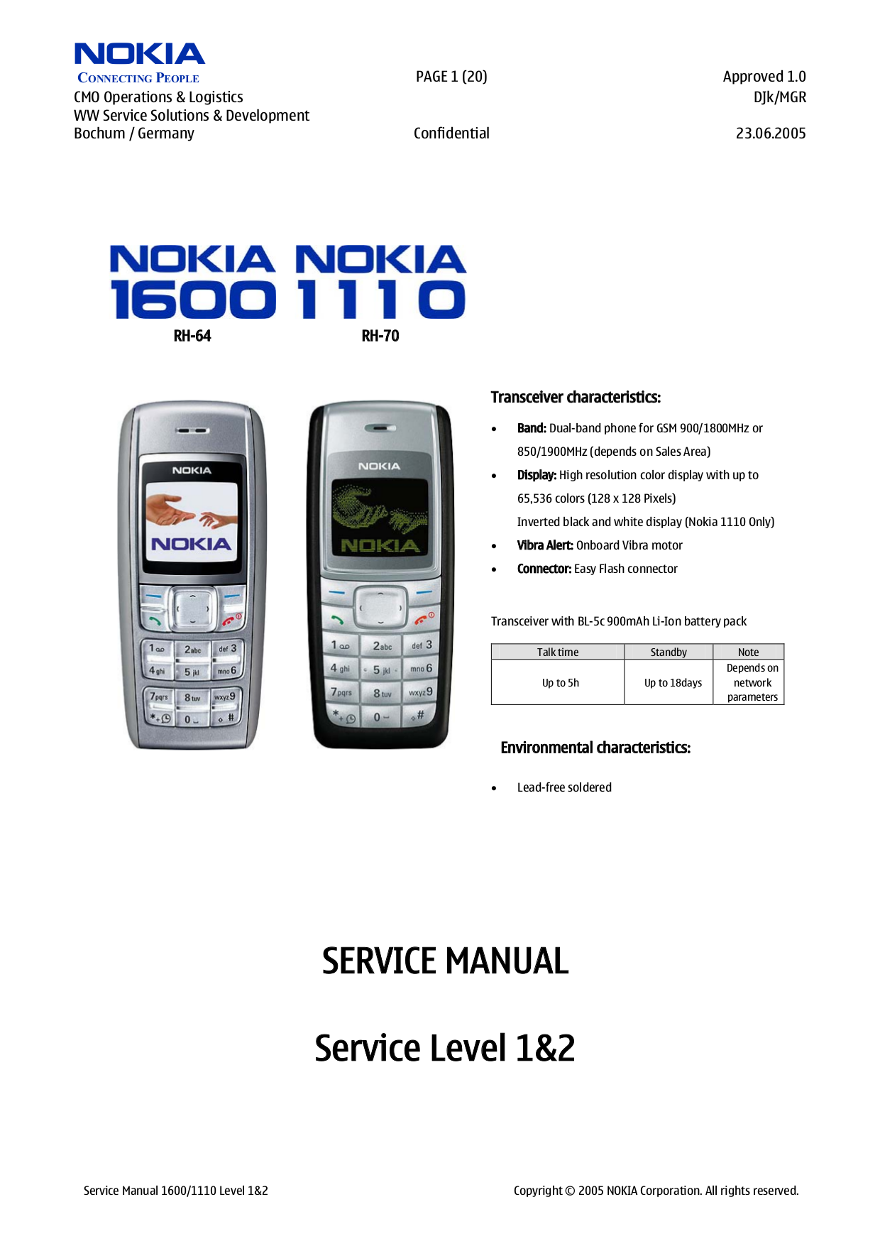 download free pdf for nokia 1110i cell phone manual rh umlib com nokia 3 mobile phone manual nokia mobile phone manual download