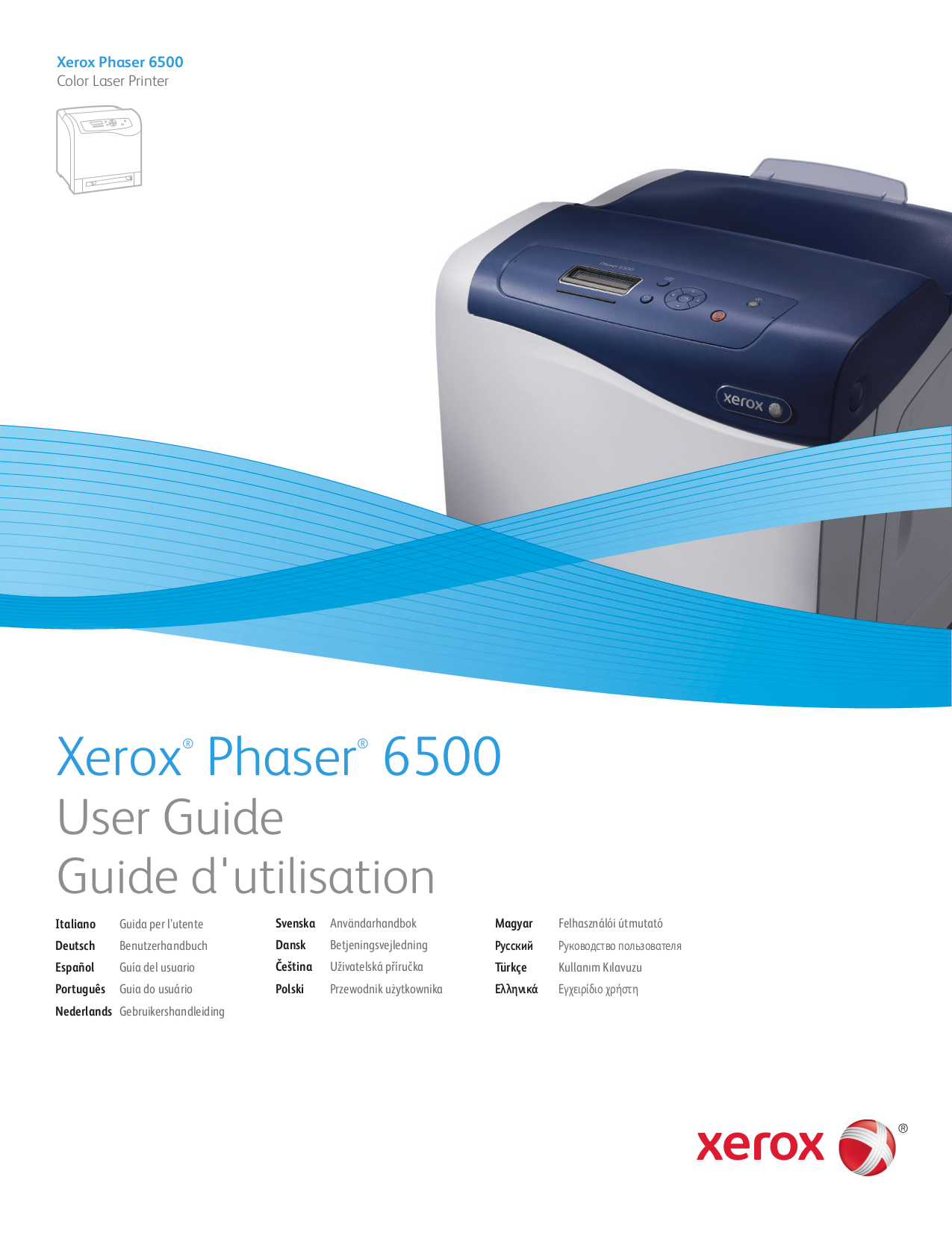 pdf manual for xerox printer phaser 7760