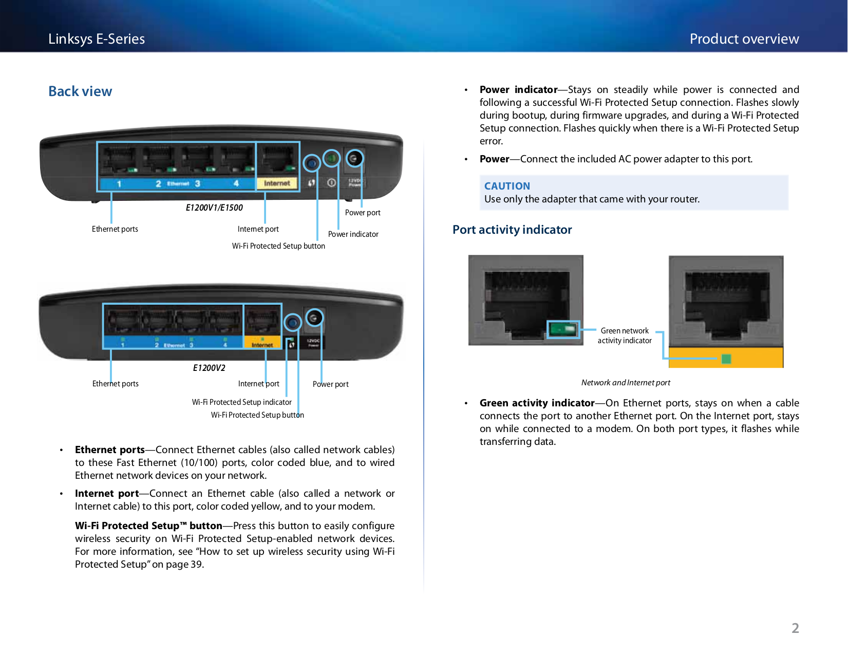 PDF manual for Linksys Wireless Router E1200