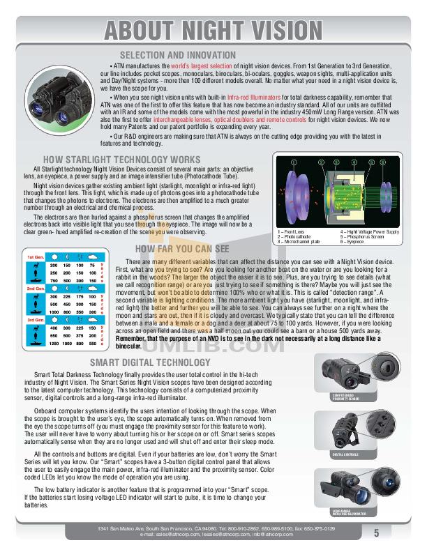 Atn Binocular Night Shadow 2 pdf page preview