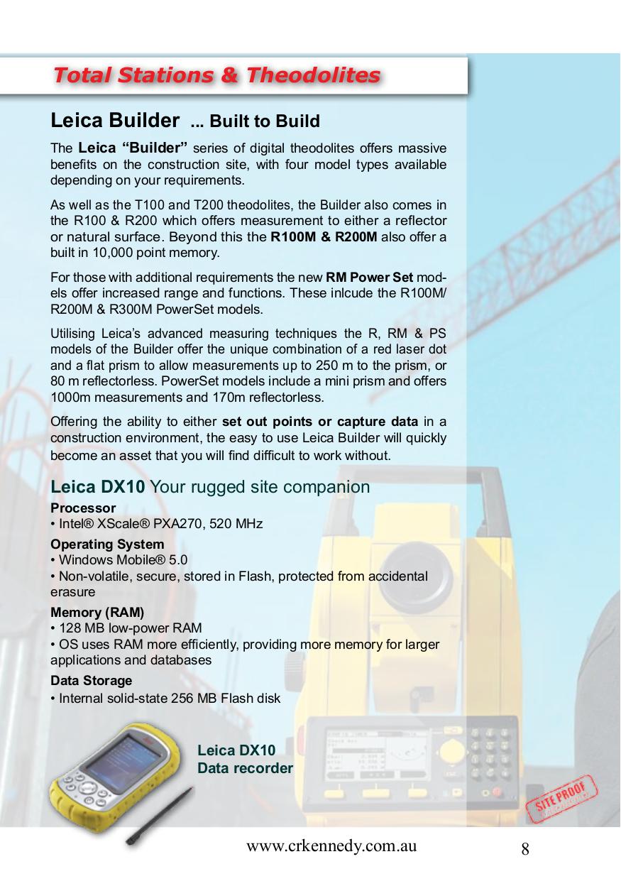 ... Leica Other Rangemaster CRF 1200 Rangefinder pdf page preview