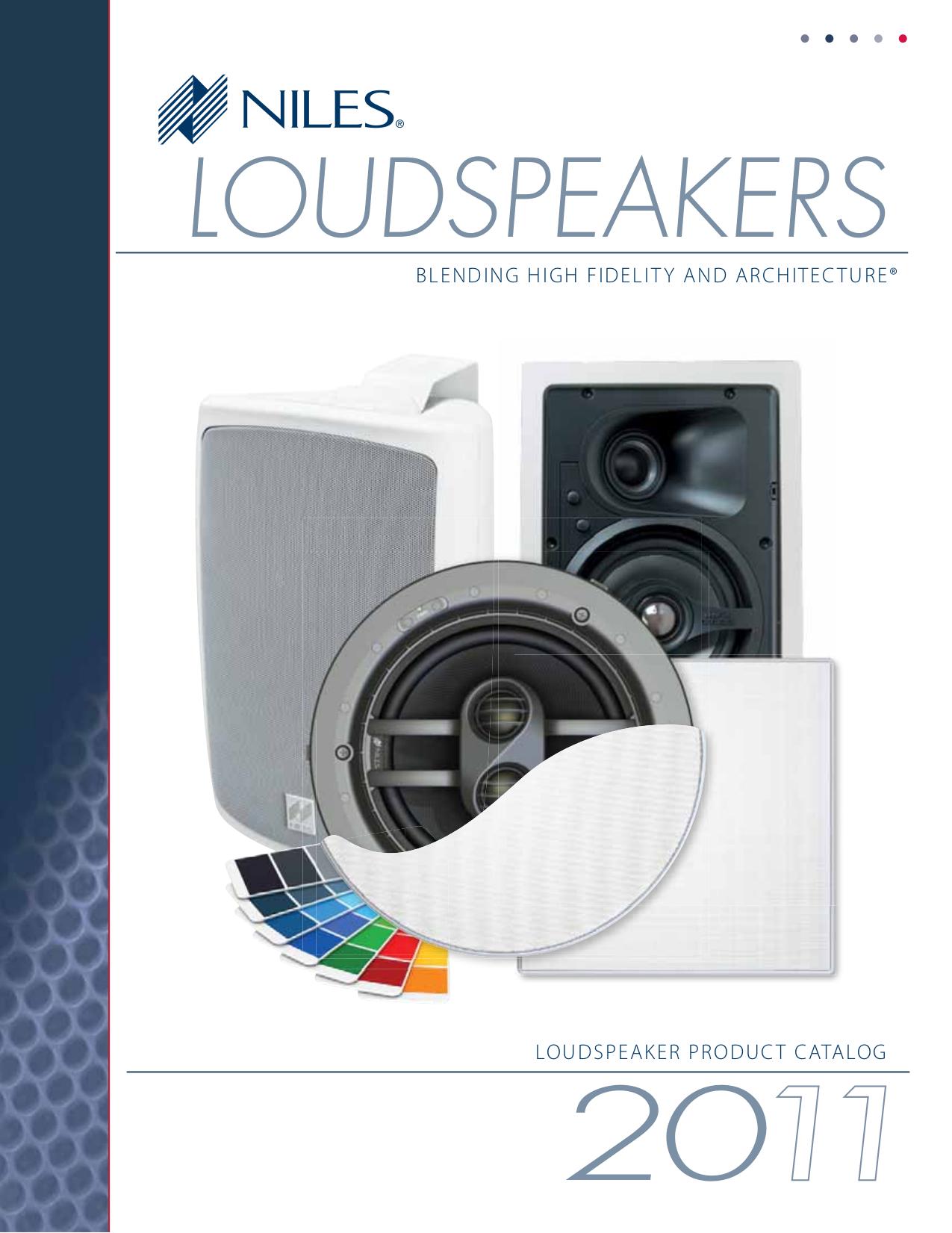 pdf for Niles Speaker CM710Si manual