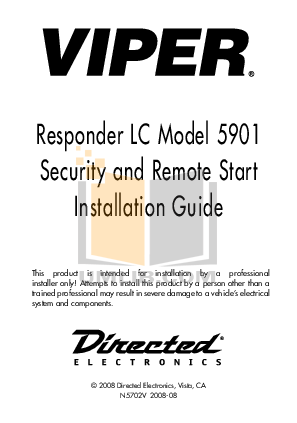 pdf for DEI Car Receiver 400 manual
