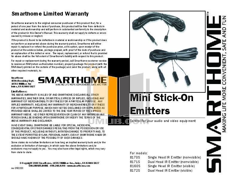 pdf for Audioplex Other RackIt IR IR Distribution System manual