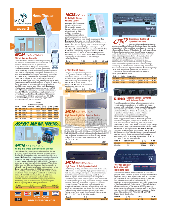 Audioplex Other RackIt IR IR Distribution System pdf page preview