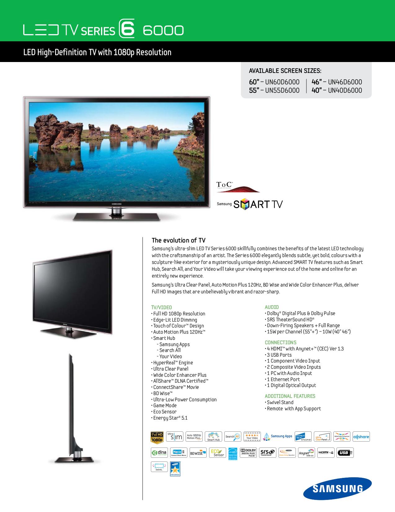 download free pdf for samsung un46d6000 tv manual rh umlib com samsung un46d6000 led tv service manual samsung model un46d6000sf manual