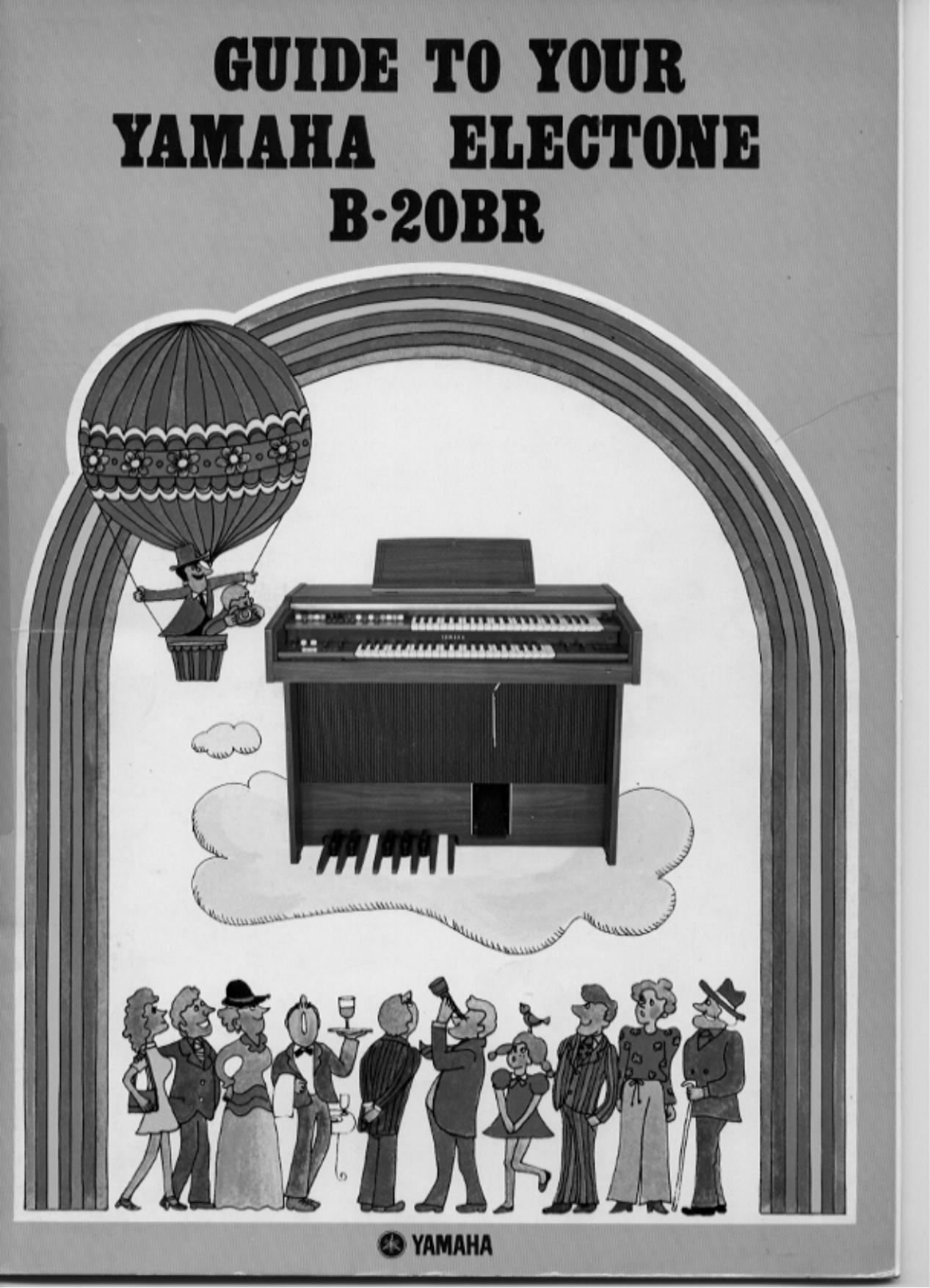 pdf for Yamaha Music Keyboard B-20BR manual