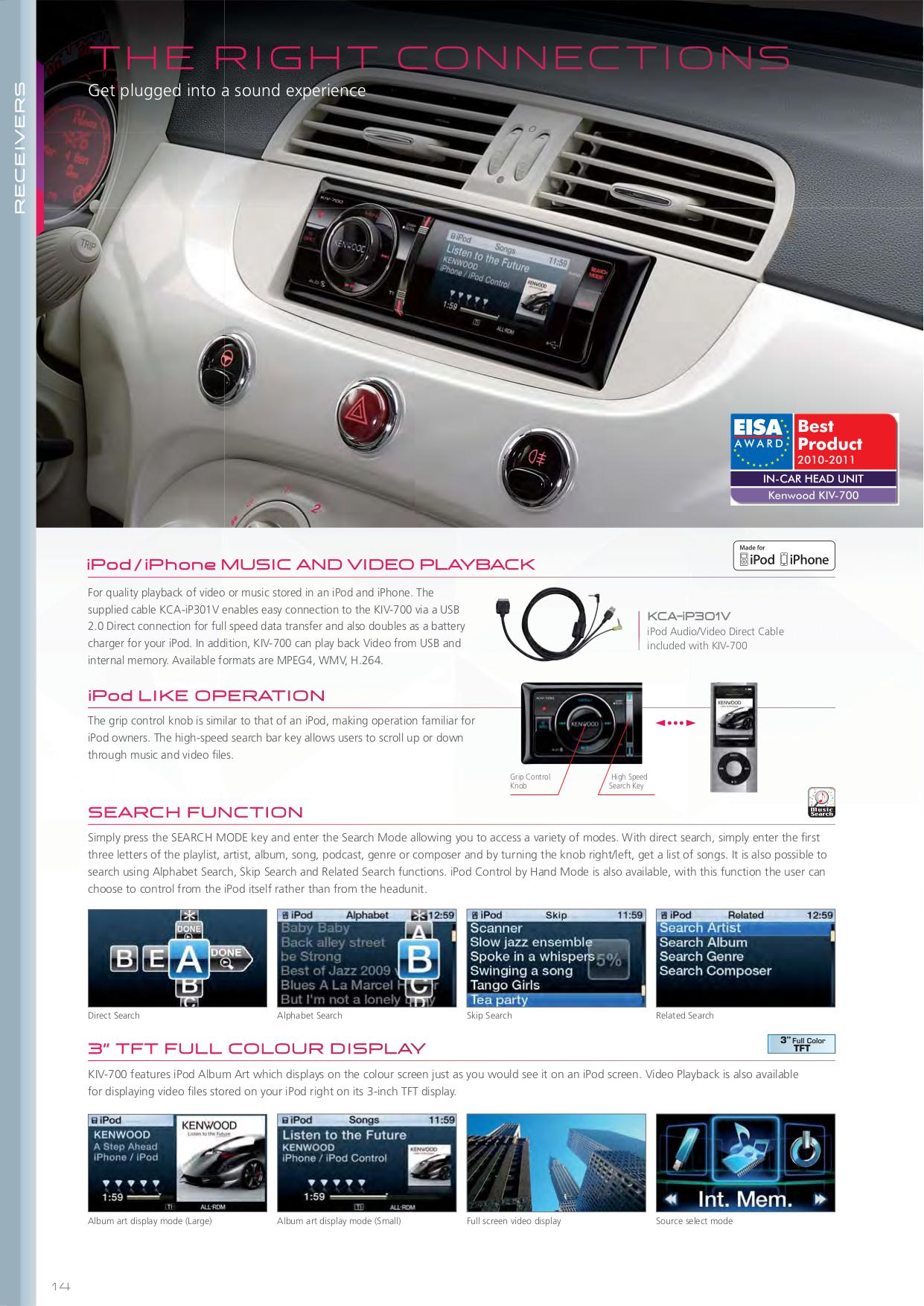 Download Free Pdf For Kenwood Kdc 2011s Car Receiver Manual Wiring Diagram