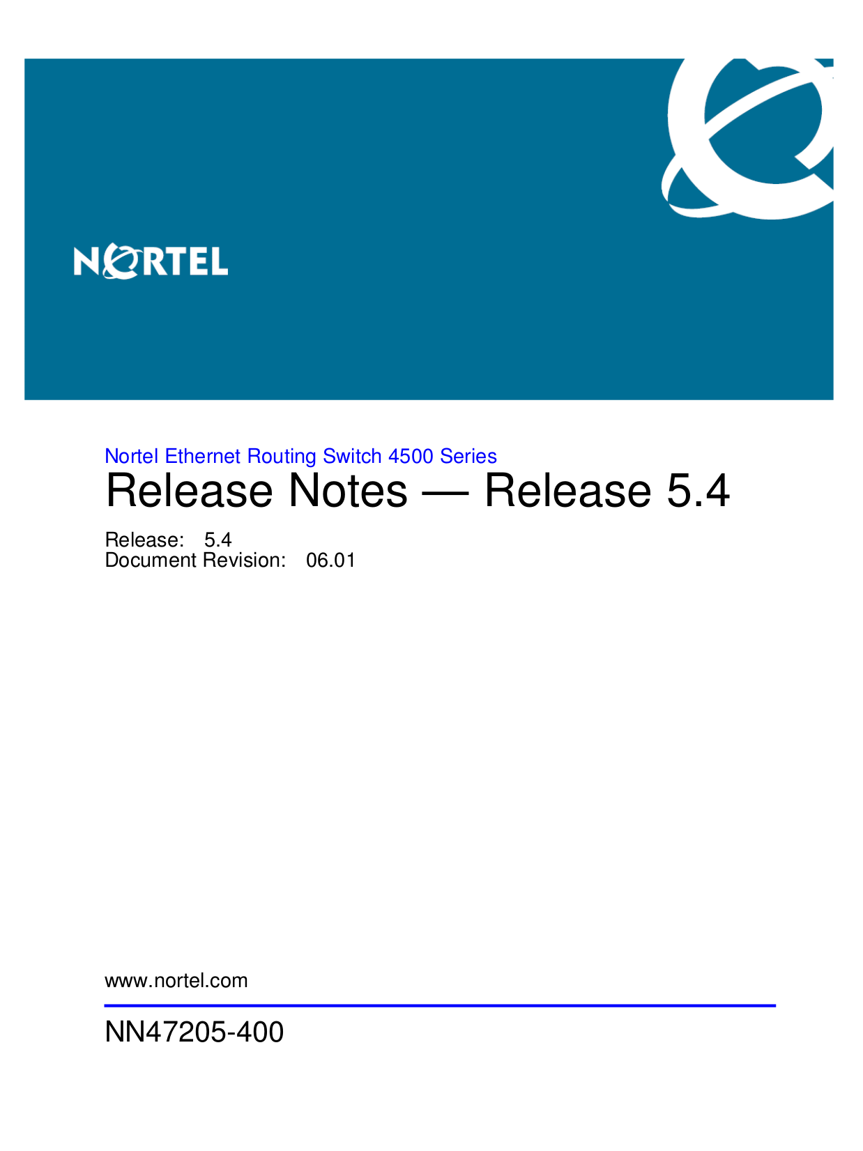pdf for Nortel Switch 4548GT manual