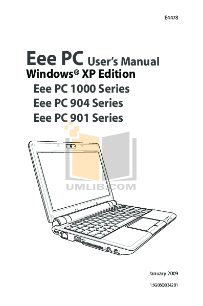 download free pdf for asus eee pc 901 laptop manual rh umlib com asus eee pc 1000 manual pdf asus eee pc 1000 service manual