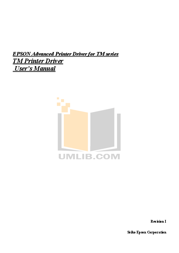 pdf for Epson Monitor DM-D110 manual