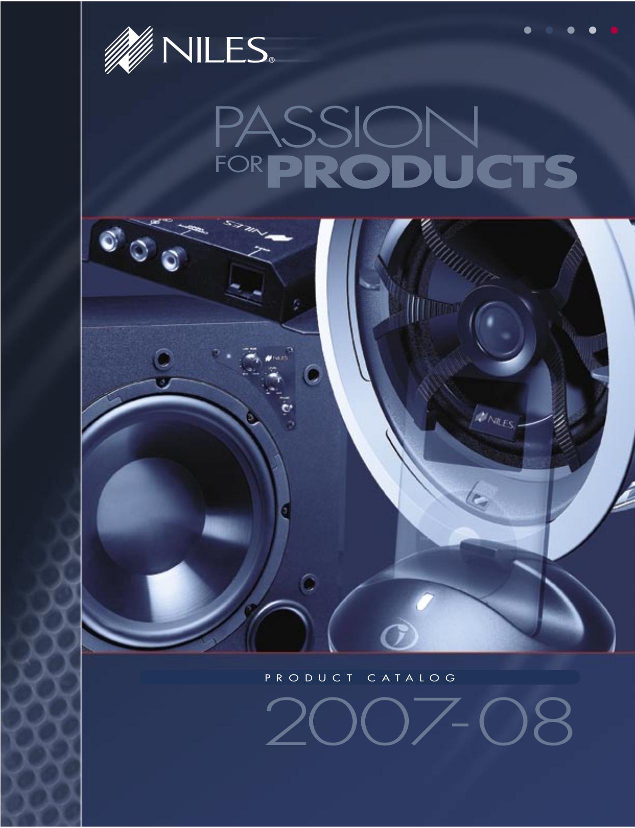 pdf for Niles Speaker Pro870FX manual