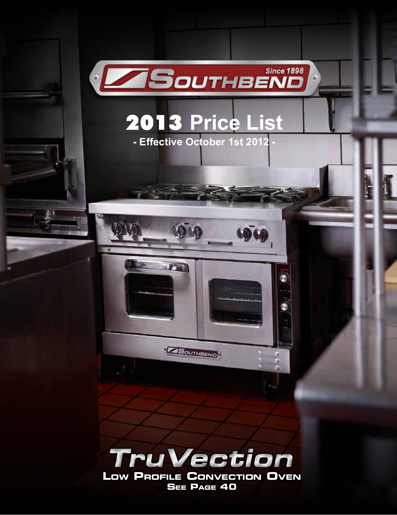 pdf for Southbend Other HDCL-24 Countertops manual