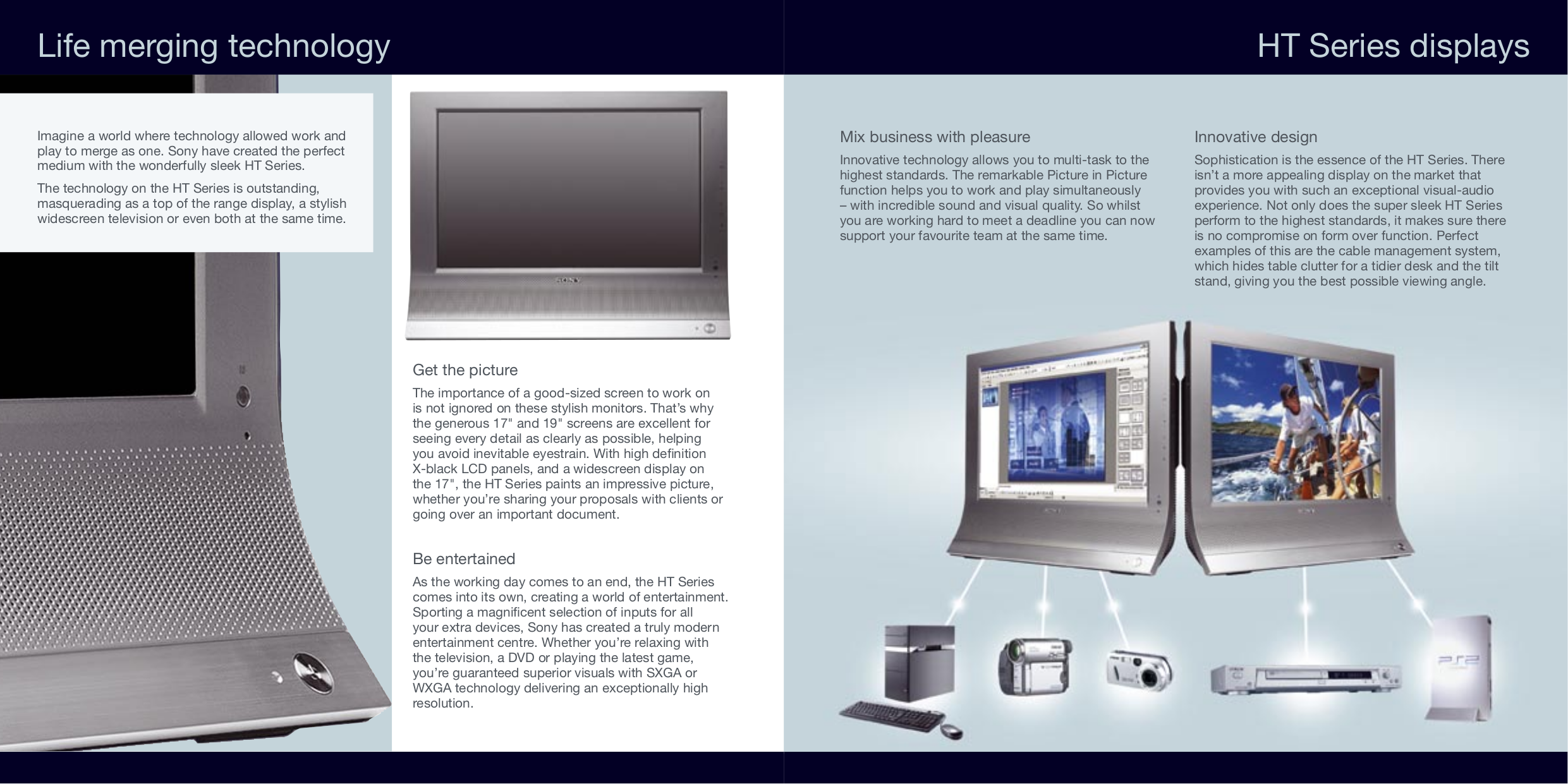 Sony Monitor SDM-HS75PS pdf page preview