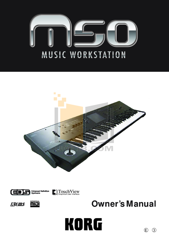 pdf for Eaw Speaker System MS50 manual